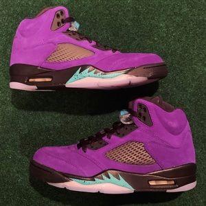Jordan 5 alternate grape
